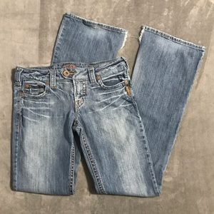 Silver Bootcut Jeans!